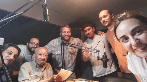 Jornada de filmación en Radio Tierra Campesina 2018